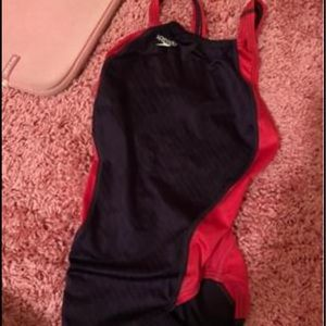 Speedo Competition Suit - Fast Suit - Pink/purple